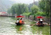 """天津:往昔""""污染河""""今朝""""清水河"""""""