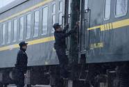 巡查列车安全 备战返程高峰
