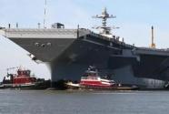 """美军""""福特""""号航母再遇故障 部署时间将推迟3个月"""