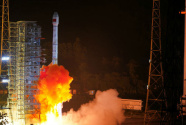 """我國成功發射兩顆北斗三號衛星 北斗系統""""一箭雙星""""為祖國慶生"""