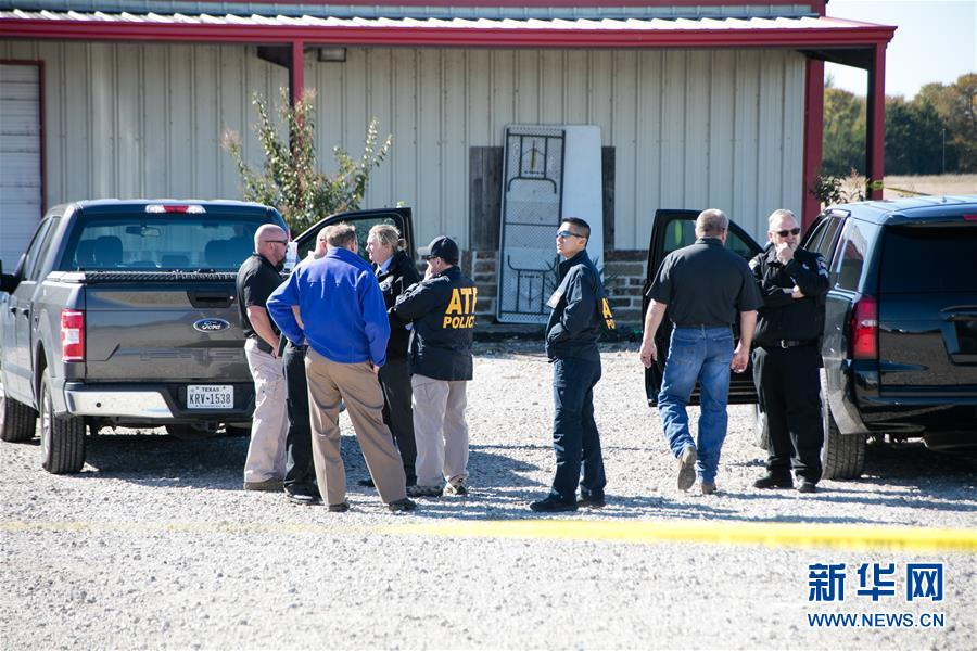(國際)(1)美國得克薩斯州一聚會發生槍擊事件兩人喪生多人受傷