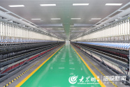 """再现""""魏桥速度"""" 世界最先进绿色智能纺织一体化工厂投运"""