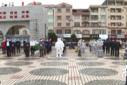 阳西县开展校园疫情防控现场应急处置演练