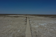察汗淖尔只剩最后一滴泪 生态屏障正变为盐尘暴策源地