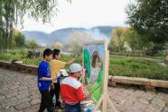 中央美院艺术家携手抖音走进云南剑川 打造一场属于15个孩子的家乡画展