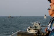 中國和新加坡海軍海上聯合演習圓滿結束