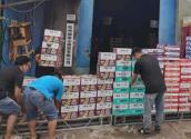 康師傅首批方便面和飲品支援鄭州抗洪救災一線