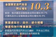 """保持穩定恢復有條件、有基礎——從前7月""""成績單""""看中國經濟走勢"""